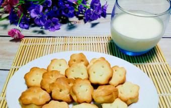 Món ăn cho bé, Cách làm bánh quy bơ sữa giòn,thơm, ngon ngất ngây