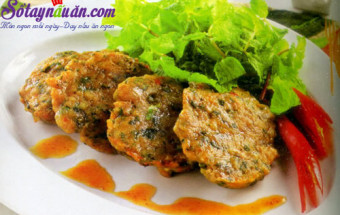Nấu ăn món ngon mỗi ngày với Hành hoa, cách làm chả ếch chiên 5