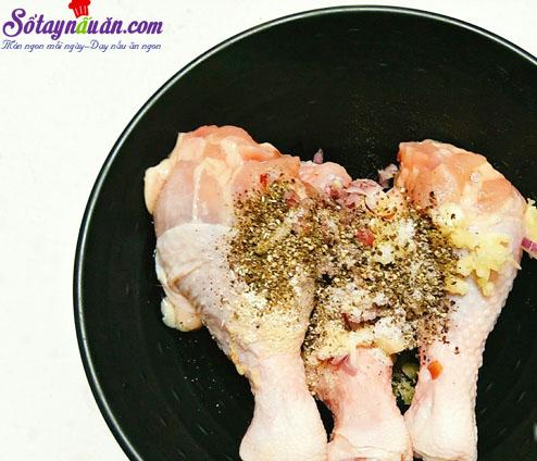 cách làm gà nướng tiêu đen 2