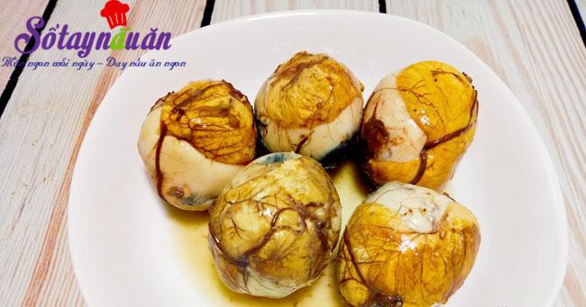 Cách làm trứng vịt lộn xào me thơm ngon hấp dẫn