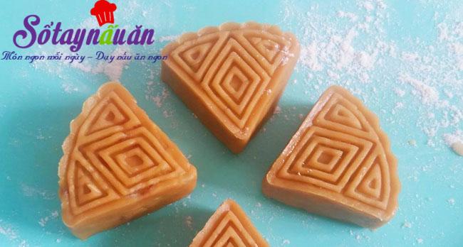 Hướng dẫn làm bánh nướng nhân đậu xanh cực dễ 3