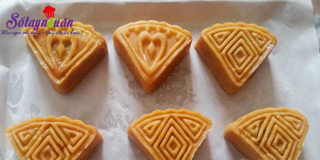 Hướng dẫn làm bánh nướng nhân đậu xanh cực dễ 4