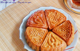 cách làm bánh, Hướng dẫn làm bánh nướng nhân đậu xanh cực dễ kết quả