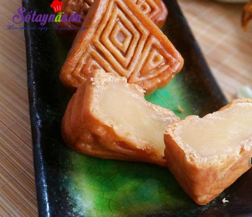 Hướng dẫn làm bánh nướng nhân đậu xanh cực dễ kết quả