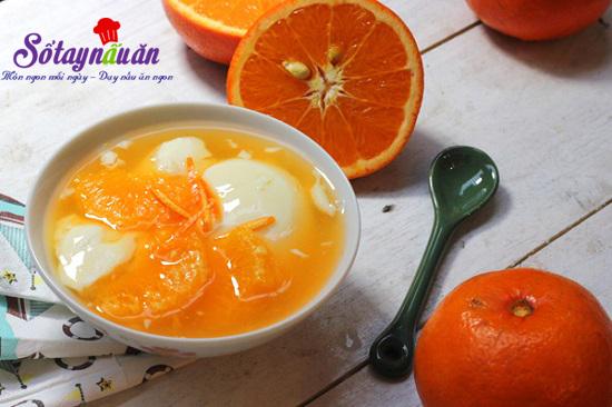 Nấu ăn, Hướng dẫn làm chè cam tào phớ thơm ngon bổ mát ngày hè