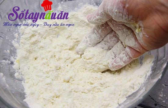 Cách làm bánh nướng nhân mặn cực kỳ hấp dẫn