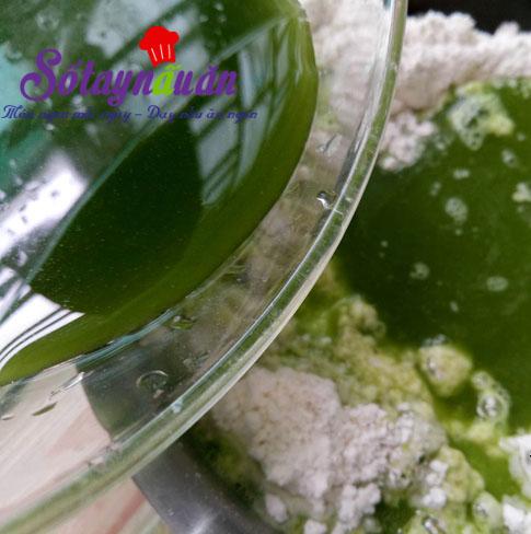 Cách làm bánh bao chay nhân trà xanh cực dễ cực ngon 2