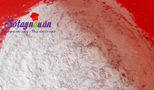Cách làm bánh dẻo nhân đậu xanh hương hoa bởi thơm lừng 2