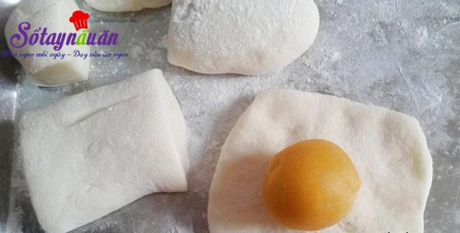 Cách làm bánh dẻo nhân đậu xanh hương hoa bởi thơm lừng 5