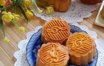 các món bánh, cách làm bánh nướng nhân sữa dừa 8