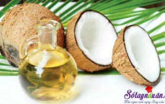 , công dụng của dầu dừa 1