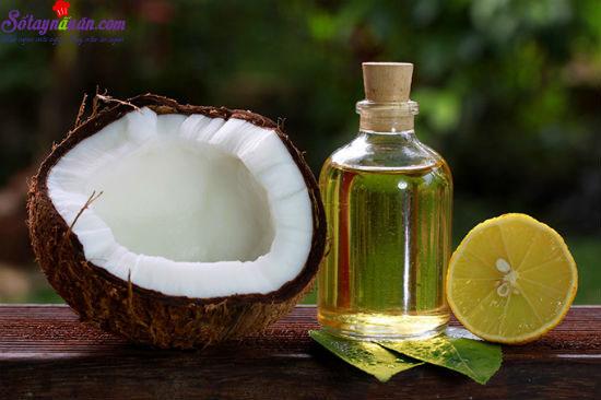 công dụng của dầu dừa 2