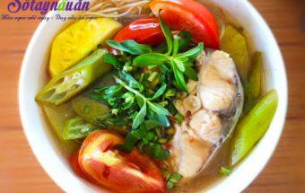 dạy nấu ăn ngon, Hướng dẫn cách làm canh cá nấu chua đậm đà ngon cơm