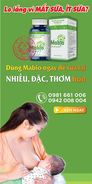 Viên uống lợi sữa Mabio hêt lo mất sữa, ít sữa, tắc sữa
