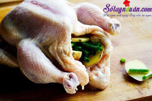 cách làm cơm gà hải nam 2