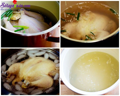 cách làm cơm gà hải nam 3