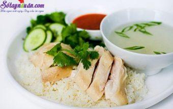 món ngon dễ làm, cách làm cơm gà hải nam 6