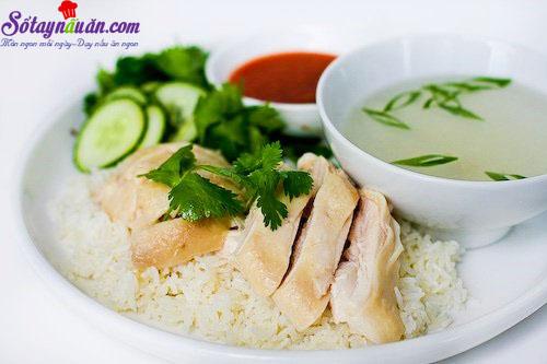 cách làm cơm gà hải nam 6
