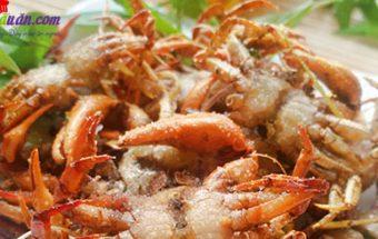dạy nấu ăn ngon, cách làm cua đồng rang muối 8