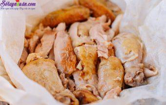 , cách làm gà nướng muối 8