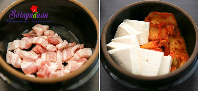 Hướng dẫn nấu canh kim chi đậu phụ cay cay ngon ngọt