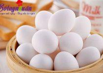Mẹo phân biệt trứng gà bị tẩy trắng