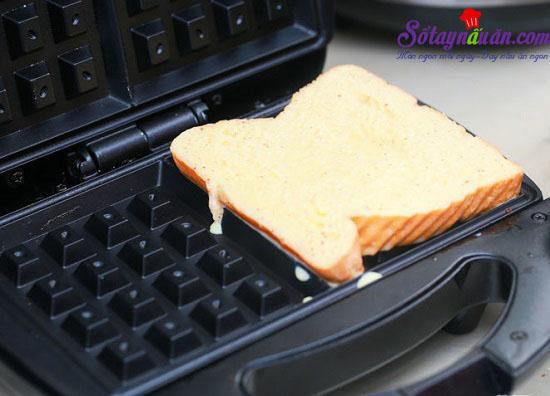 Cách làm bánh sandwich mới theo phong cách 4