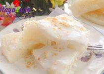 Cách làm bánh bò cốt dừa thơm ngon say đắm