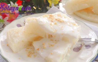 cách làm bánh, Cách làm bánh bò cốt dừa thơm ngon say đắm