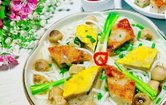Đồ ăn sáng, Cách làm bánh canh chả cá đậm đà vị quê hương