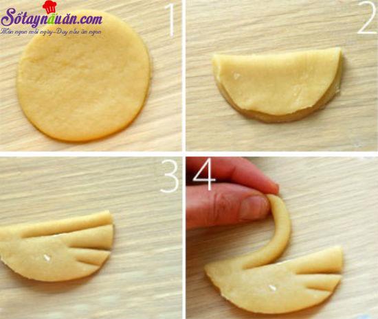 cách làm bánh quy với bơ thiên nga 2