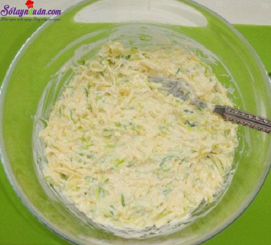 cách làm salad tỏi tây 4