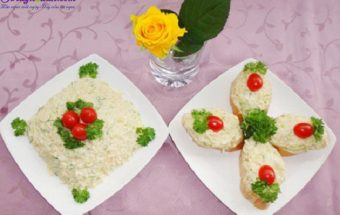 , cách làm salad tỏi tây 5
