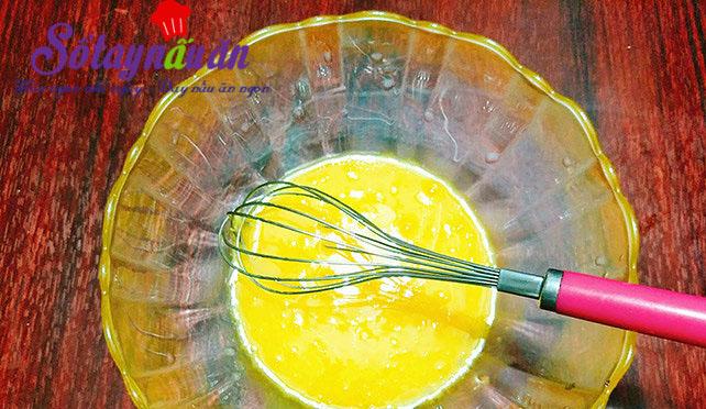 Hướng dẫn làm bánh bông lan nho khô thơm ngon hết nấc