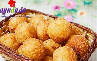 các món bánh, Hướng dẫn làm bánh khoai tây chiên xù cắn giòn cực đã
