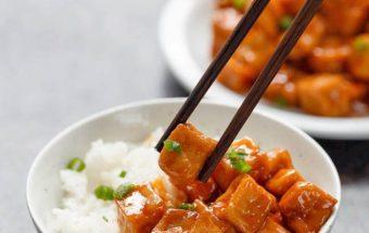 chế biến món ăn, Hướng dẫn làm đậu phụ sốt chua ngọt cực rẻ lại cực đưa cơm