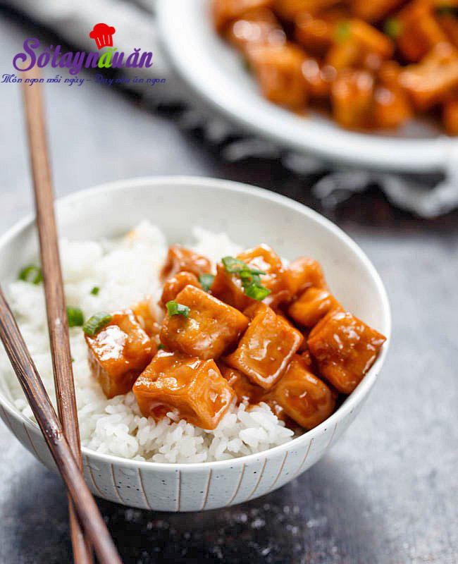 Hướng dẫn làm đậu phụ sốt chua ngọt cực rẻ lại cực đưa cơm
