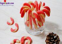 Giáng sinh thêm ấm áp với bánh quy hình kẹo gậy