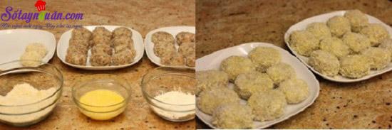 cách làm chả viên thịt bò khoai tây 9