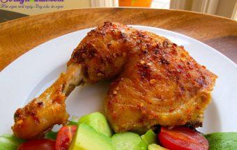 món ngon mỗi ngày, cách làm gà nướng chua cay 1