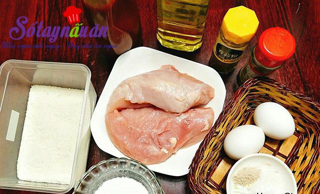 Cách làm gà que chiên xù dậy mùi, giòn tan nguyên liệu