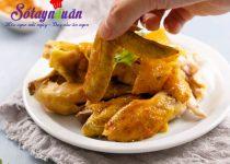 Gà nướng muối nóng hổi – ăn là phải khen