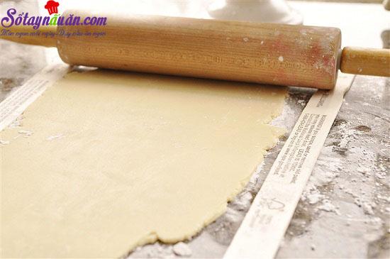 cách làm bánh chuối quả mâm xôi 8