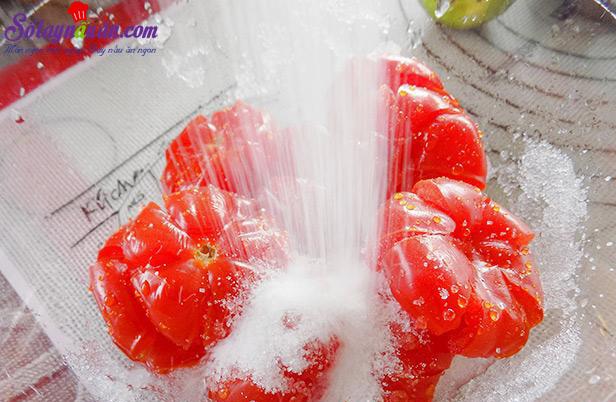 cách làm mứt cà chua bi 3