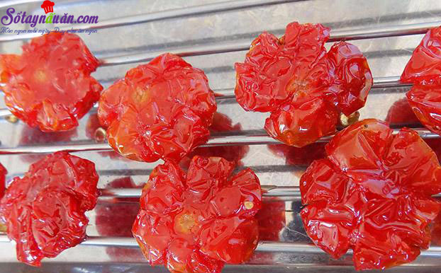cách làm mứt cà chua bi 7