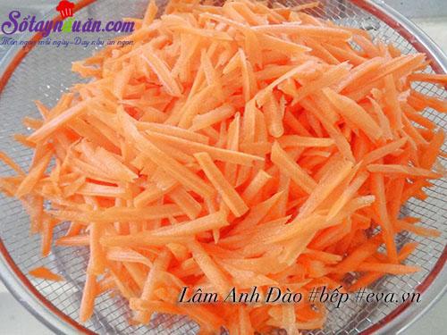 cách làm mứt dẻo cà rốt 1