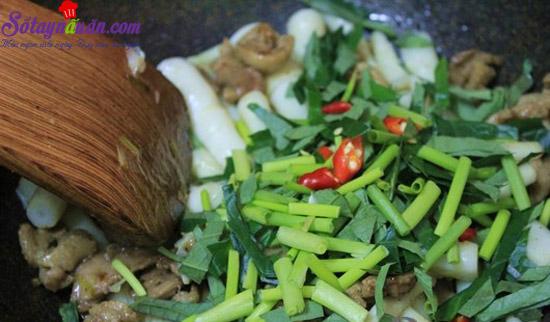 cách làm thịt vịt xào măng trúc 5