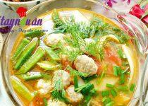 Học nấu canh riêu chả cá thác lác mát lành ngon cơm