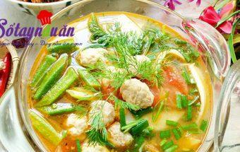 hướng dẫn cách nấu ăn ngon hàng ngày, Học nấu canh riêu chả cá thác lác mát lành ngon cơm