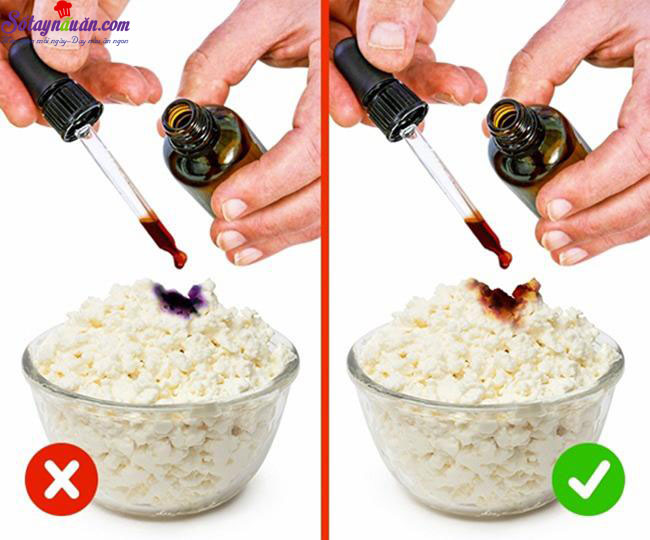 mẹo nhận biết thực phẩm kém chất lượng 2